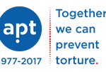 Organization logo: Association for the Prevention of Torture (APT)