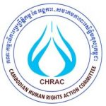 Organization logo: Cambodian Human Rights Action Committee (CHRAC)