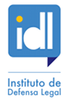 Organization logo: Instituto de Defensa Legal (IDL)