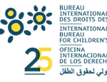 Organization logo: International Bureau for Children's Rights (IBCR)