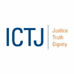 Organization logo: International Center for Transitional Justice (ICTJ)
