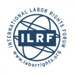 Organization logo: International Labor Rights Forum (ILRF)