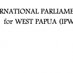 Organization logo: International Parliamentarians for West Papua (IPWP)