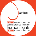 Organization logo: Justice Human Rights Organization