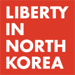 Organization logo: Liberty in North Korea (LiNK)