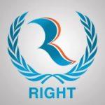 Organization logo: Right Bahraini Organization for Human Rights (Right BOHR)