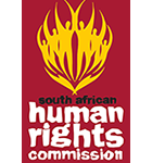 Organization logo: South African Human Rights Commission (SAHRC)