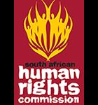 Organization logo: South African Human Rights Commission (SAHRC)