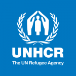 Organization logo: The UN Refugee Agency (UNHCR)