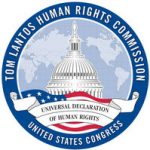 Organization logo: Tom Lantos Human Rights Commission (TLHRC)