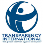 Organization logo: Transparency International