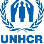 Organization logo: United Nations High Commissioner for Refugees (UNHCR)
