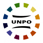 Organization logo: Unrepresented Nations and Peoples Organization (UNPO)