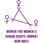 Organization logo: Women for Women's Human Rights - New Ways (WWHR)