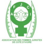 association des femmes juristes de cote d'ivoire org logo