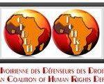 Coalition Ivoirienne des Défenseurs des Droits Humains (CIDDH) logo