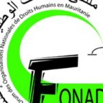 forum des organisations nationales de droits humains en mauritanie